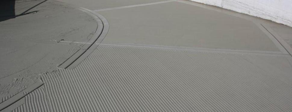Pavimentazioni: Rampe Antiscivolo spinate in cemento